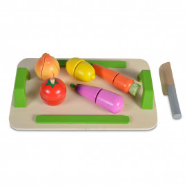 Moni Toys Wooden board for cutting vegetables