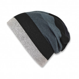 Sterntaler Knitted hat with polar lining for a boy