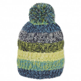 Sterntaler Winter knitted hat with pompom