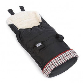 Teutonia Winter sack WINTER FOOTMUFF Midnight Black