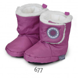 Sterntaler Waterproof baby booties for girls