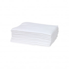 Bubaba Set Muslin nappies 80x80 cm 10pcs White