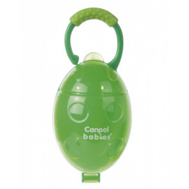 "Canpol Soother container ""Ladybird"" Green"
