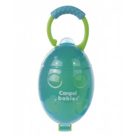 "Canpol Soother container ""Ladybird"" Blue"