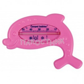 Canpol Bath Thermometer Pink