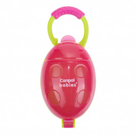"""Canpol Soother container """"Ladybird"""" Pink"""
