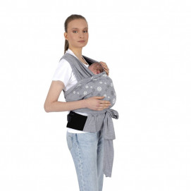 Sevi bebe Supported Wearable Sling Grey