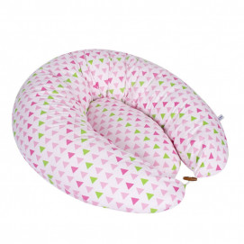 Sevi bebe Multifunctional pillow for pregnant, breastfeeding and nest Pink