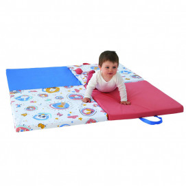 Tineo Smart 3in1 play mat, roll mattress and soft chair Family fun