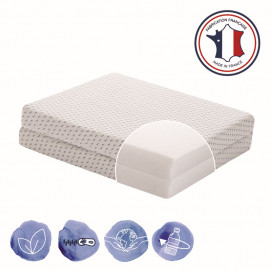 Candide Folding mattress Ocean Friendly from recycled plastic, collected from the ocean 60х120х7 cm.