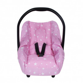 Sevi bebe Car seat protector with protect function pink