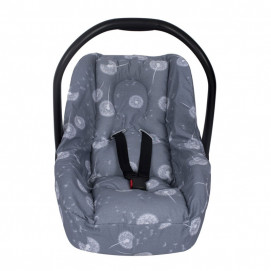 Sevi bebe Car seat protector with waist protection function Dandelions