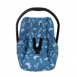 Sevi bebe Car seat protector with waist protection function