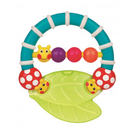 Sassy Caterpillar teether rattle