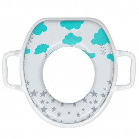 Sevi bebe Soft toilet bowl stand Clouds