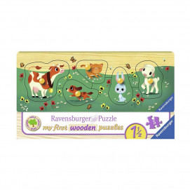 Ravensburger Favourite Animal Friends Jigsaw Puzzle 5pc