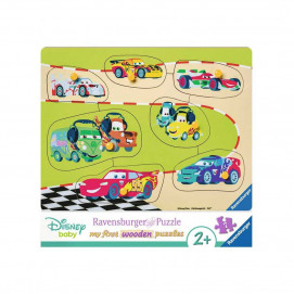 Ravensburger Wooden Jigsaw Puzzle - The Cars Family 7pc