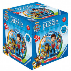 Ravensburger 3D Puzzle Ball Paw Patrol 54 pc