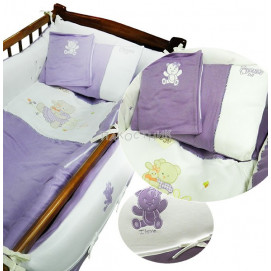 Baby Dji Baby sleep set 10 pcs. purple Baby Dji