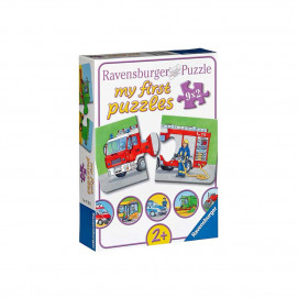 Ravensburger My first puzzle 9 х 2pc - Service Vehicles