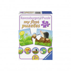 Ravensburger My first puzzle 9 х 2pc - Animals in the garden