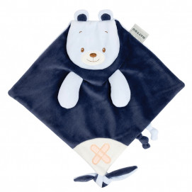 Nattou Buddiezzz Soft cloth for cuddling Bear 28 x 27 cm 730181