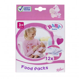 BABY born Food for Doll 12 Sachets