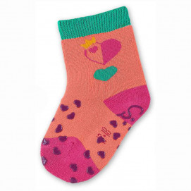Sterntaler Stockings with silicone crawling Heart