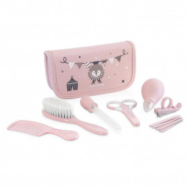 Miniland Kit for baby care pink