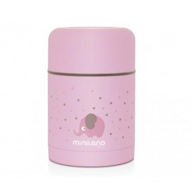 Miniland Thermos for food 600ml. pink