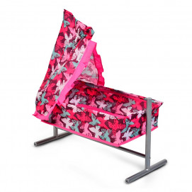 Nano Bed-swing for dolls Butterfly Pink