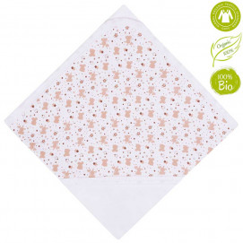 Bio Baby Double sided baby blanket from jersey with print