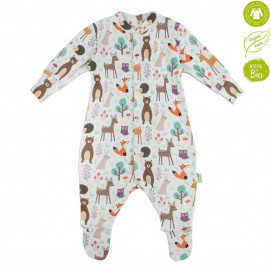 Bio Baby Baby Overalls with print (50 to 80 cm)