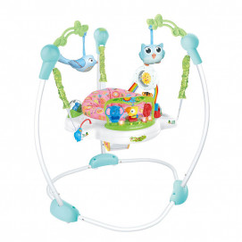 Kikkaboo Bungee on a stand FOREST FUN Pink