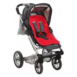 Minene Cotton pad stroller red