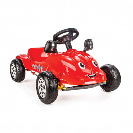 Pilsan Car with pedals HERBY Red 07302