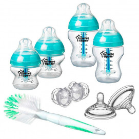 Tommee Tippee Set for newborn ANTI-COLIC + bottle brush