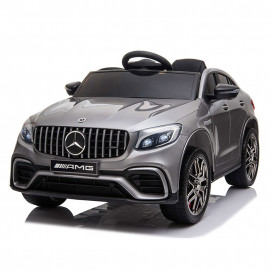 Moni Rechargeable car MERCEDES AMG GLC 63 S Silver