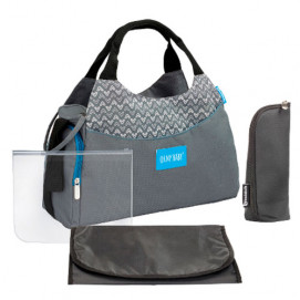 Badabulle Multipocket Changing Bag Gray B043023