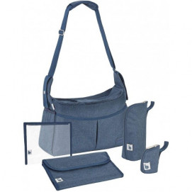 BabyМoov URBAN BAG Melanged blue A043590