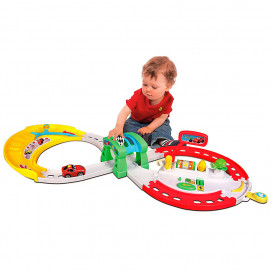 Bburago Junior Complete set with track for playing with sound and light FERRARI F12 16-88802