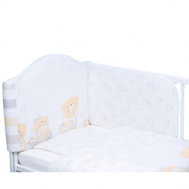 Bubaba Bedroom Set 6 Pieces Bears with hearts