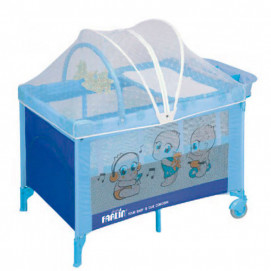 Farlin Baby cot 2 levels 60/120 Blue