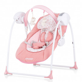 Chipolino Electric musical baby swing LULLABY Orchid