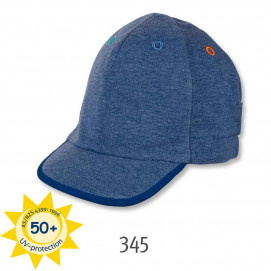Sterntaler Children baseball cap blue UV 50+ protection
