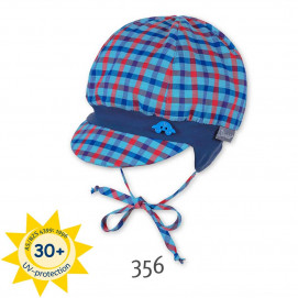 Sterntaler Baby summer hat karentse with UV30 + protection Cola