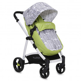 Cangaroo Rachel Stroller green with gray