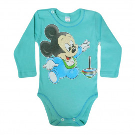 Sali Baby long-sleeve bodysuit with print boy