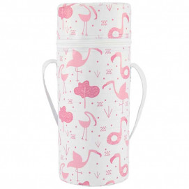 Kikkaboo Thermal insulator for a bottle with a wide neck Pink