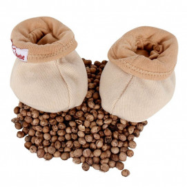 Sevi bebe Booties with cherry pits to relieve colic